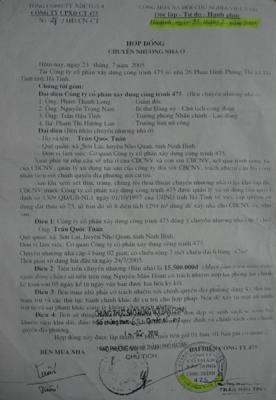 """Hà Tĩnh: Lập danh sách """"ma"""" để chia chác khu đất"""