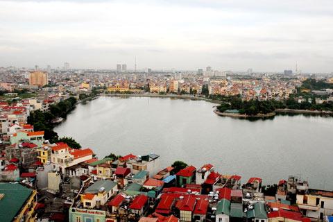 Quy hoạch Hà Nội thành chùm đô thị
