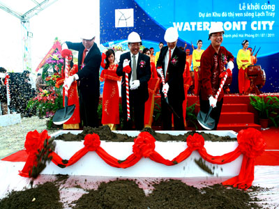 Khởi công dự án Hải Phòng Waterfront City