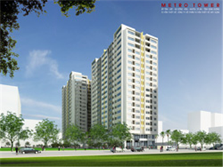 Chào bán căn hộ Metro Tower với giá từ 10,6 triệu đồng/m2