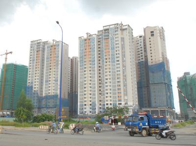 Trầm lắng thị trường căn hộ chung cư