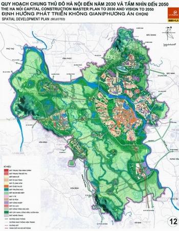Ý tưởng xanh vẽ đè đất đô thị