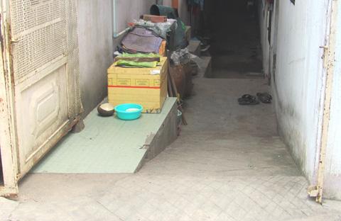 Những ngôi nhà trở thành 'hang' giữa Sài Gòn