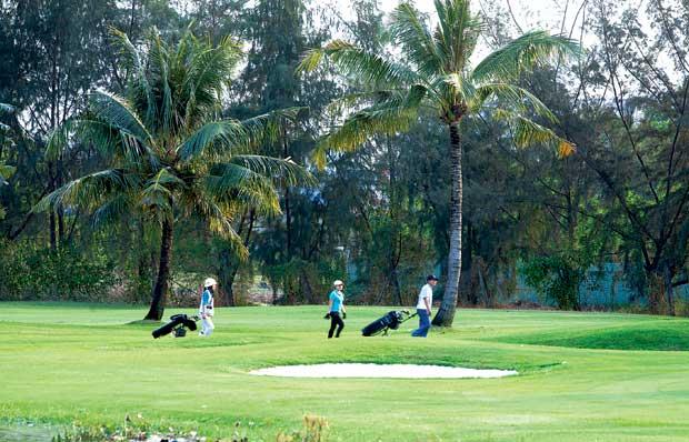 Đến năm 2020, cả nước có 115 sân golf