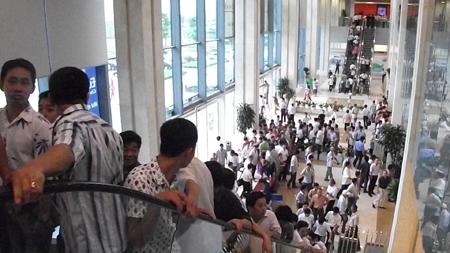 Đông nghẹt khách tham quan đồ án quy hoạch Thủ đô