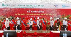Hà Nội: Khởi công dự án siêu thị thương mại dịch vụ Bắc Qua