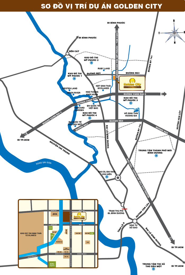 Golden City: Phố vàng thương mại