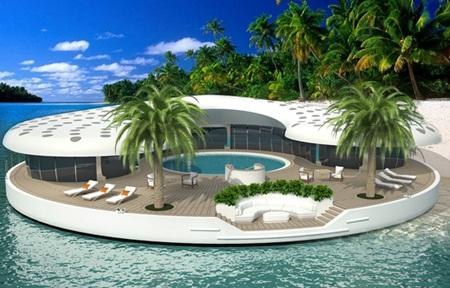 Dubai công bố dự án biệt thự nổi giá 'khủng'