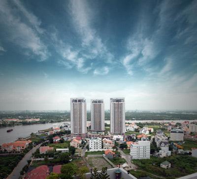 Sắp hoàn thành dự án Xi Riverview Palace