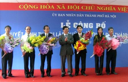 Hà Nội công bố lập Quỹ Phát triển đất