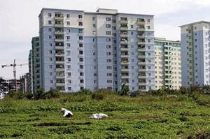 Thị trường bất động sản Hà Nội quý III/2011: Trầm lắng vì thiếu vốn
