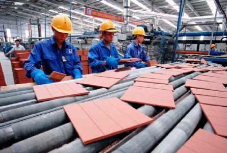 Tiêu thụ gạch ốp lát trong năm 2011giảm 40 triệu m2
