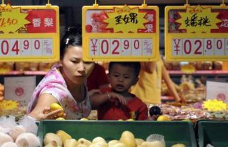 Lạm phát Trung Quốc giảm mạnh