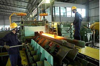 Sản xuất thép tăng 8% trong tháng 10