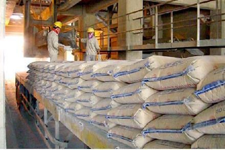 Xi măng: Tồn kho trên 2 triệu tấn