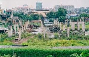 Thê thảm tiến độ các dự án bất động sản