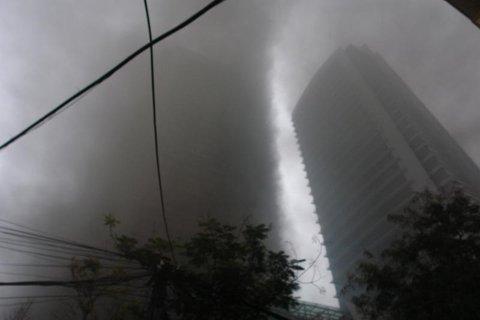 Sáng nay, tòa nhà Điện lực lại bùng cháy