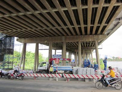 Sửa cầu Sài Gòn trong 6 tháng