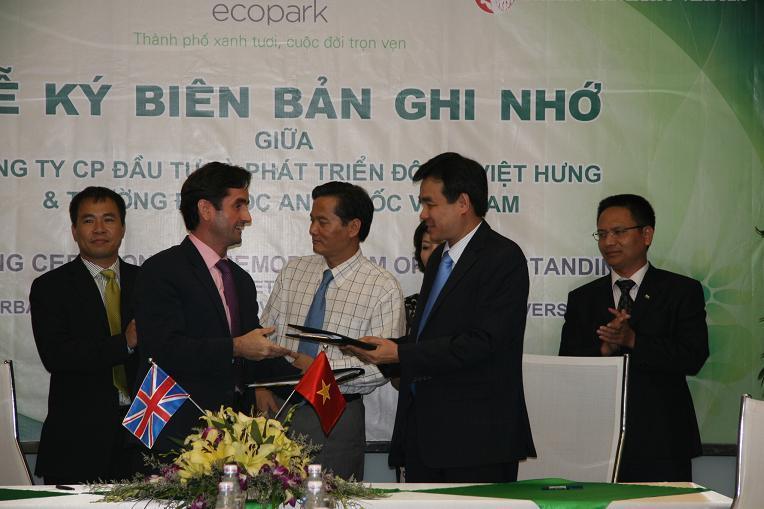 Xây dựng trường đại học Anh Quốc đầu tiên tại Ecopark