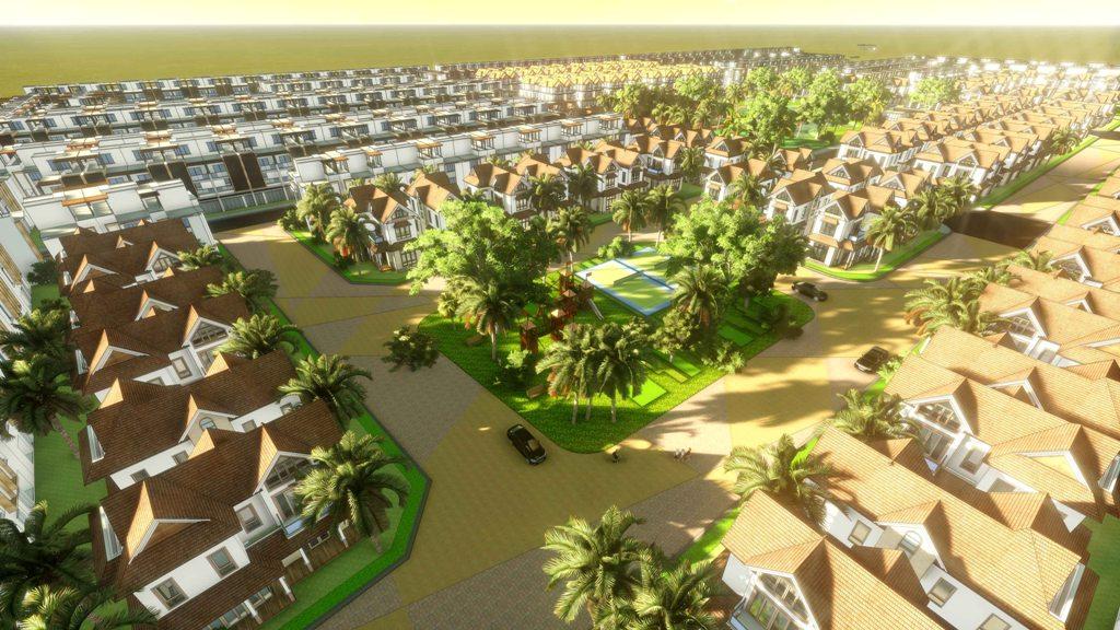 Kết quả hình ảnh cho khu đô thị 3d
