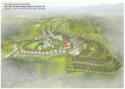 Tổng quan và quy mô Hoàng Đình Villa Đà Lạt: Khu đô thị mới tại thành phố hoa