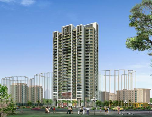 Hoàn thành tầng 12 dự án West Lake Dominium - C2 Xuân Đỉnh