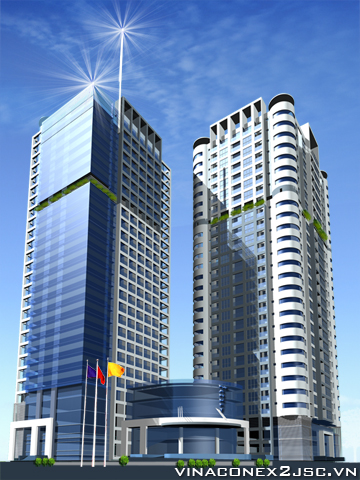 Vinaconex 2 ký hợp đồng gói thầu dự án MD Complex Tower