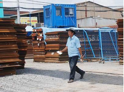 Doanh nghiệp sản xuất xi măng, thép điêu đứng trước sự ảm đạm của địa ốc