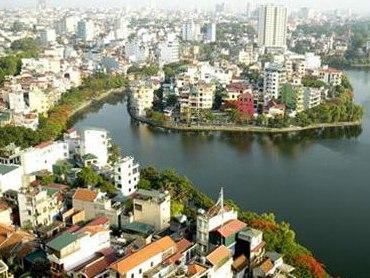 Tổ chức không gian Hà Nội theo mô hình chùm đô thị