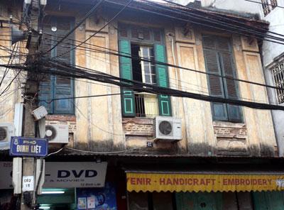 Di dời 40% dân cư phố cổ Hà Nội