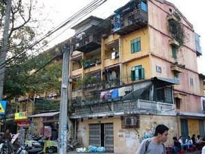 Gian nan công cuộc cải tạo chung cư cũ ở Hà Nội