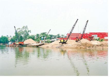 Xuất khẩu đá và cát xây dựng phải được Thủ tướng cho phép