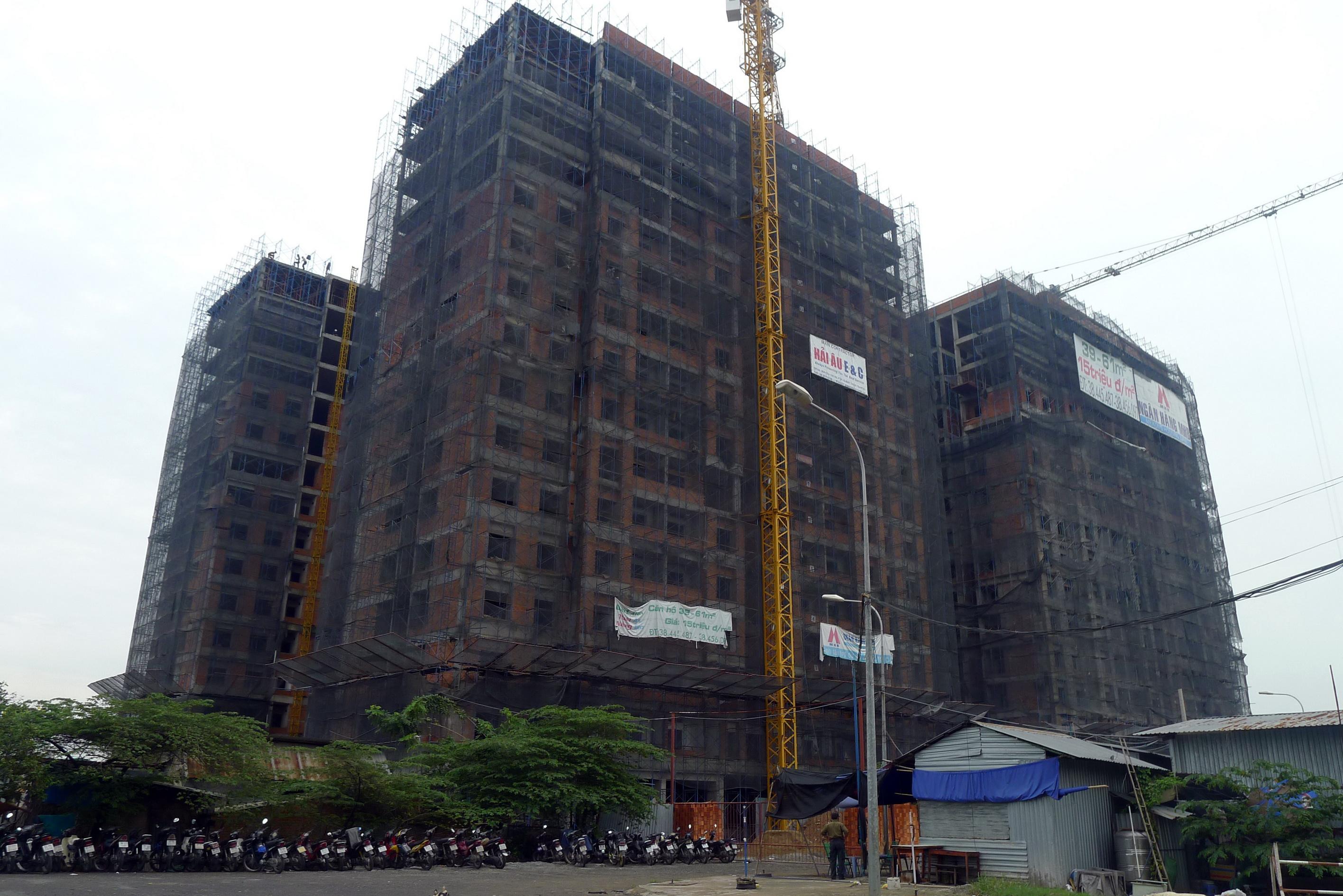 CafeLand – Theo thông tin từ chủ đầu tư cho biết, hiện dự án chung cư Thái An 3 và 4 đã được cất nóc. Dự kiến, hai tòa chung cư này sẽ được bàn giao vào quý II/2012.