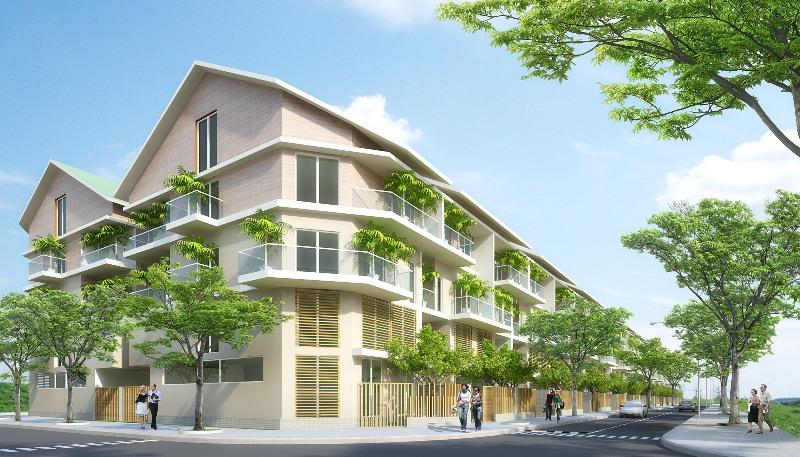 Mở bán đợt 1 dự án Eco Village với giá từ 3,25 triệu đồng/m2