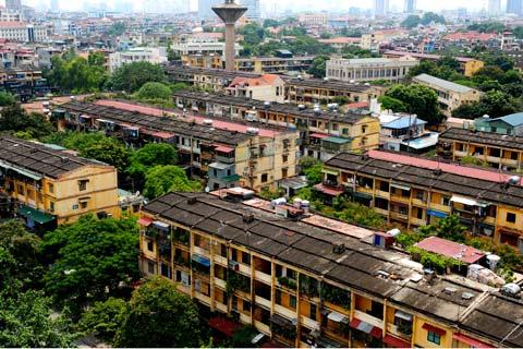 Cải tạo đô thị cũ: Nên đổi mới cách làm