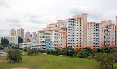 Singapore: Giới hạn bán căn hộ 3 phòng ngủ
