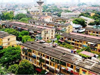 Đề nghị thu hồi bốn dự án cải tạo chung cư
