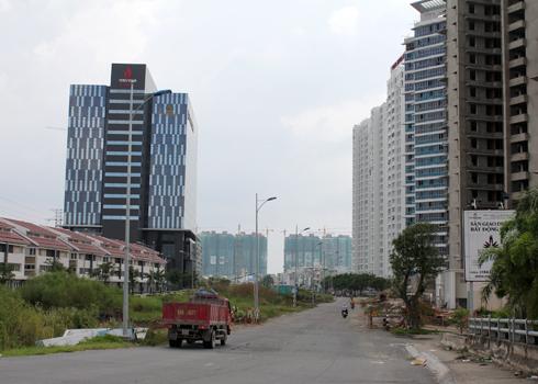 Đất nền ven Sài Gòn hút khách