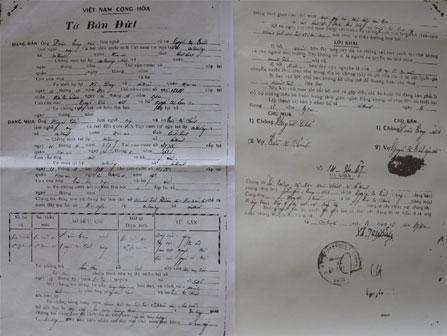 Cấp giấy chứng nhận quyền sử dụng đất ở Hoài Ân (Bình Định) Bài 2: Cần khôi phục quyền lợi chính đáng của dân