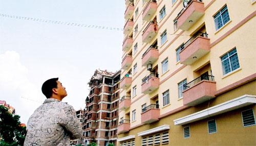Căn hộ thu nhập thấp hoàn thành mới đạt 1% so với kế hoạch
