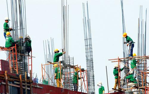 Doanh nghiệp xây dựng thất bát