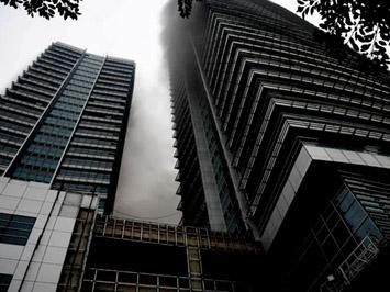 Bất lực…chữa cháy tầng cao?