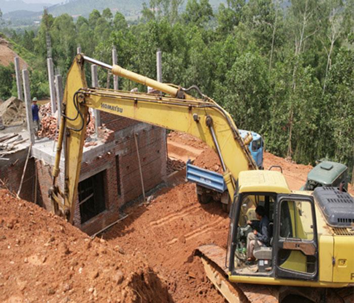 Lấp hồ, xẻ núi để bán tại xã Vân Hòa (Ba Vì): Bỗng dưng hóa đất lô, nền