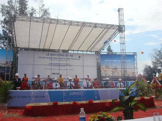 Quảng Nam: Khởi công dự án Tổ hợp khách sạn và nhà ở sinh thái Cyan