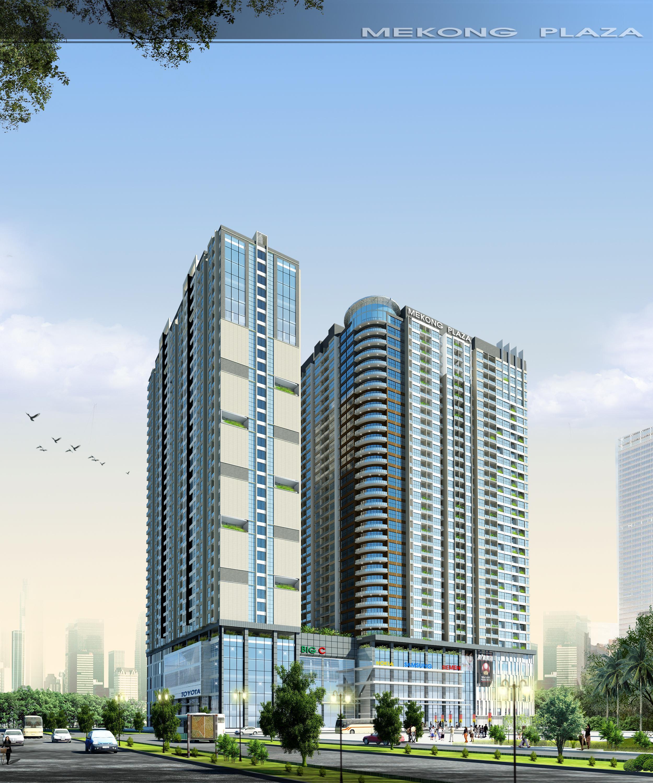 Tổng quan và quy mô Mekong Plaza: Giá trị khẳng định đẳng cấp