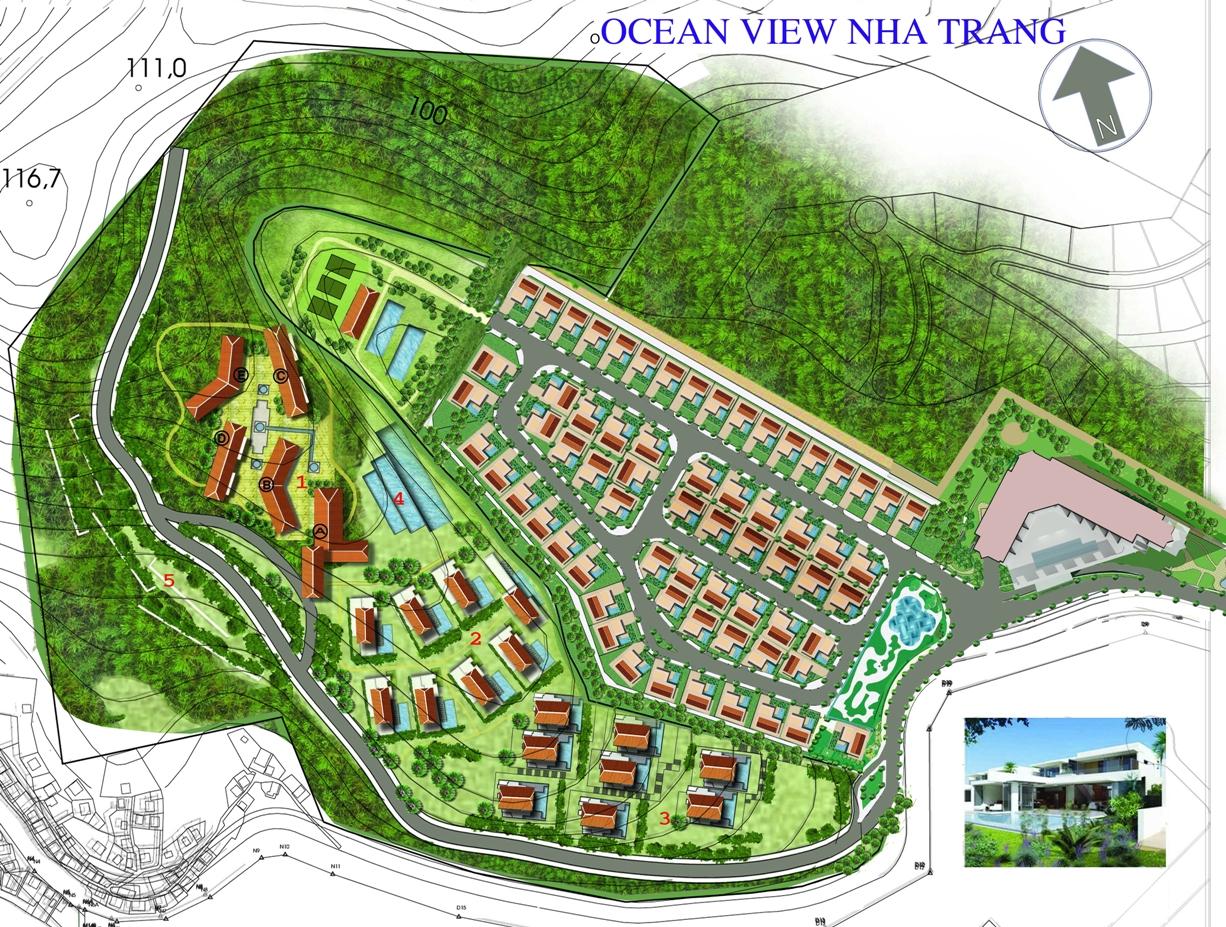 ocean Tổng quan và quy mô Ocean View Nha Trang
