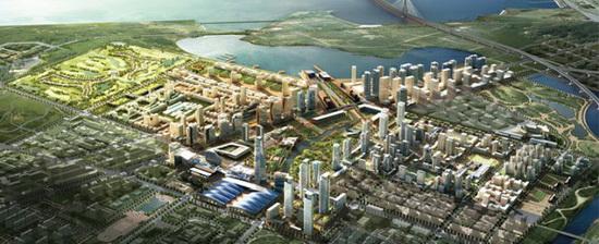 Songdo - siêu thành phố 35 tỷ USD trên đất lấn biển tại Hàn Quốc