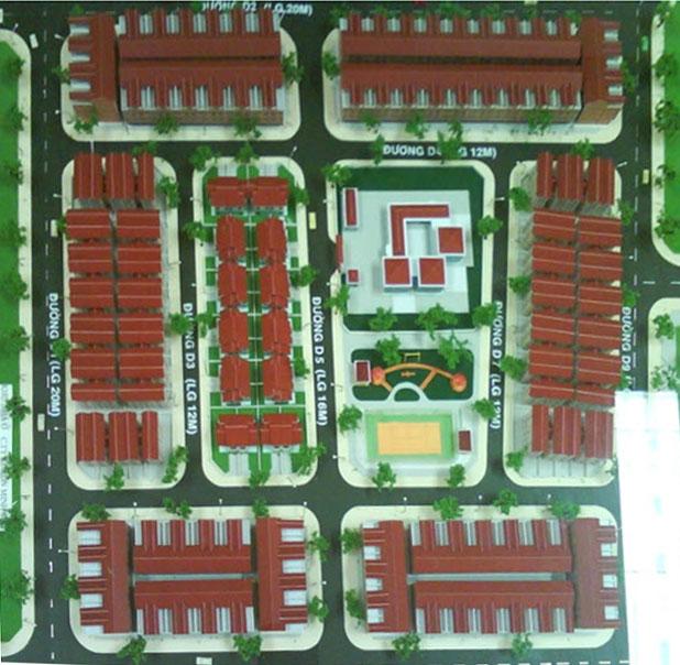 Mở bán đợt 1 nhà phố liên kế khu dân cư phường 7 – quận 8 với giá từ 3,3 tỷ đồng