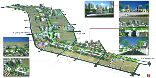 Hải Phòng: Quy hoạch Khu đô thị ven sông Lạch Tray