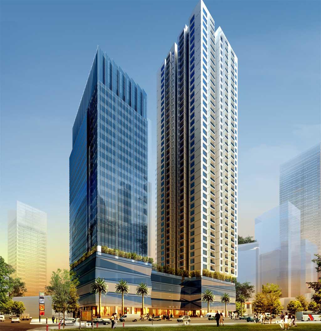 1500 tỷ đồng đầu tư dự án Tòa nhà đa năng LICOGI 16